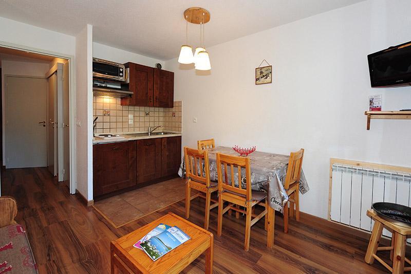 Location au ski Appartement 2 pièces 4 personnes (217) - Résidence les Balcons d'Olympie - Les Menuires - Séjour