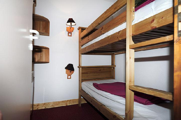Location au ski Appartement 2 pièces 8 personnes (319) - Résidence les Balcons d'Olympie - Les Menuires - Lits superposés