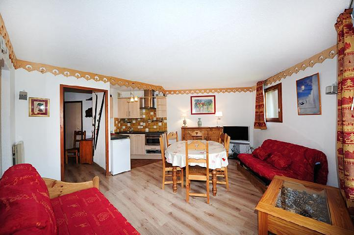 Location au ski Appartement 2 pièces 8 personnes (319) - Résidence les Balcons d'Olympie - Les Menuires - Séjour
