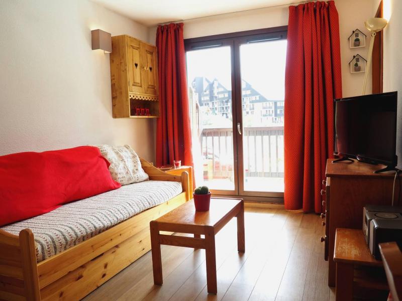 Location au ski Appartement 2 pièces cabine 6 personnes (109) - Résidence les Balcons d'Olympie - Les Menuires - Séjour