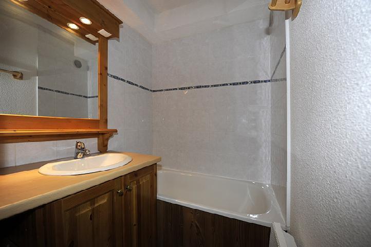 Location au ski Appartement 2 pièces mezzanine 8 personnes (639) - Résidence les Balcons d'Olympie - Les Menuires - Salle d'eau