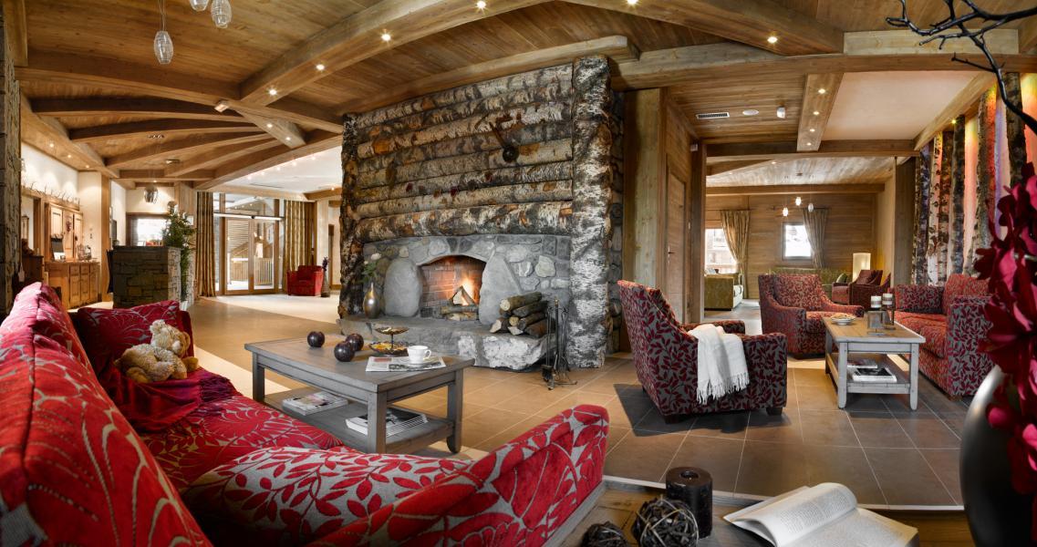 Alquiler al esquí Résidence les Clarines - Les Menuires - Recepción