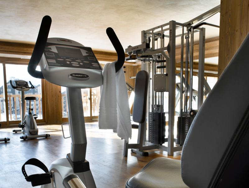 Location au ski Residence Les Clarines - Les Menuires - Espace fitness
