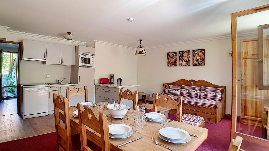 Location au ski Appartement 3 pièces 6 personnes (1) - Residence Les Cristaux - Les Menuires