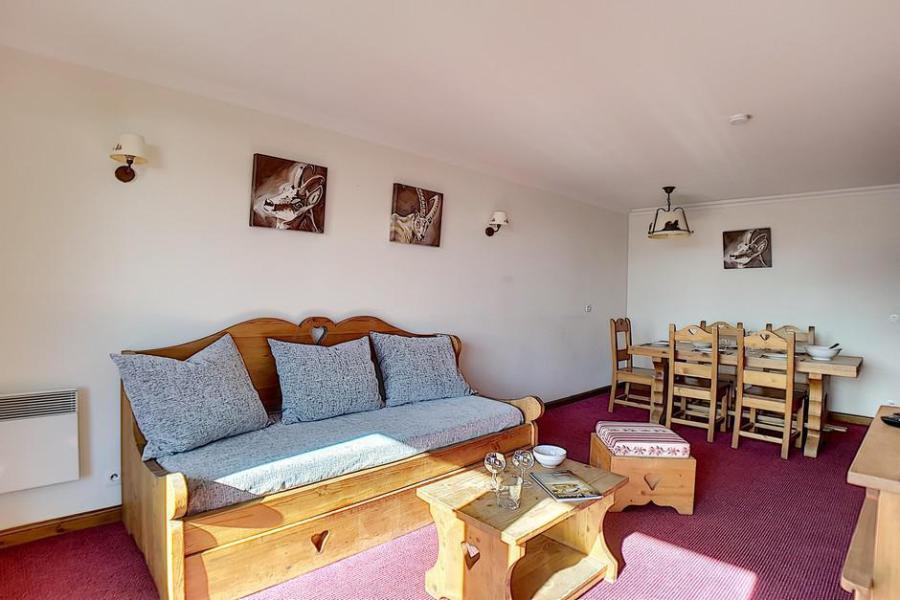 Location au ski Residence Les Cristaux - Les Menuires