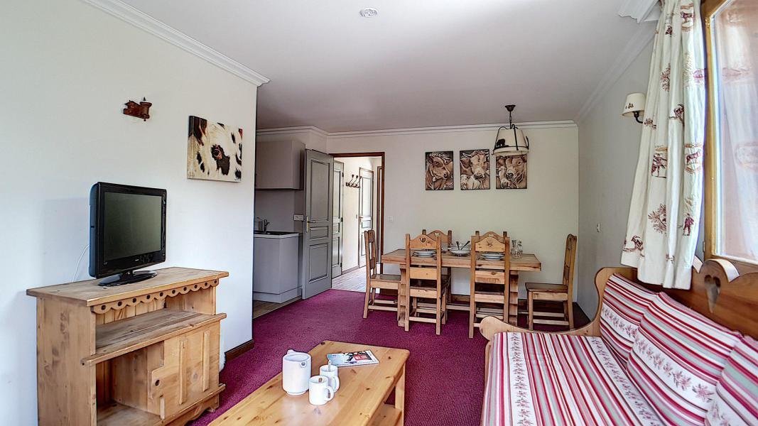 Location au ski Appartement 3 pièces 6 personnes (4) - Résidence les Cristaux - Les Menuires - Kitchenette
