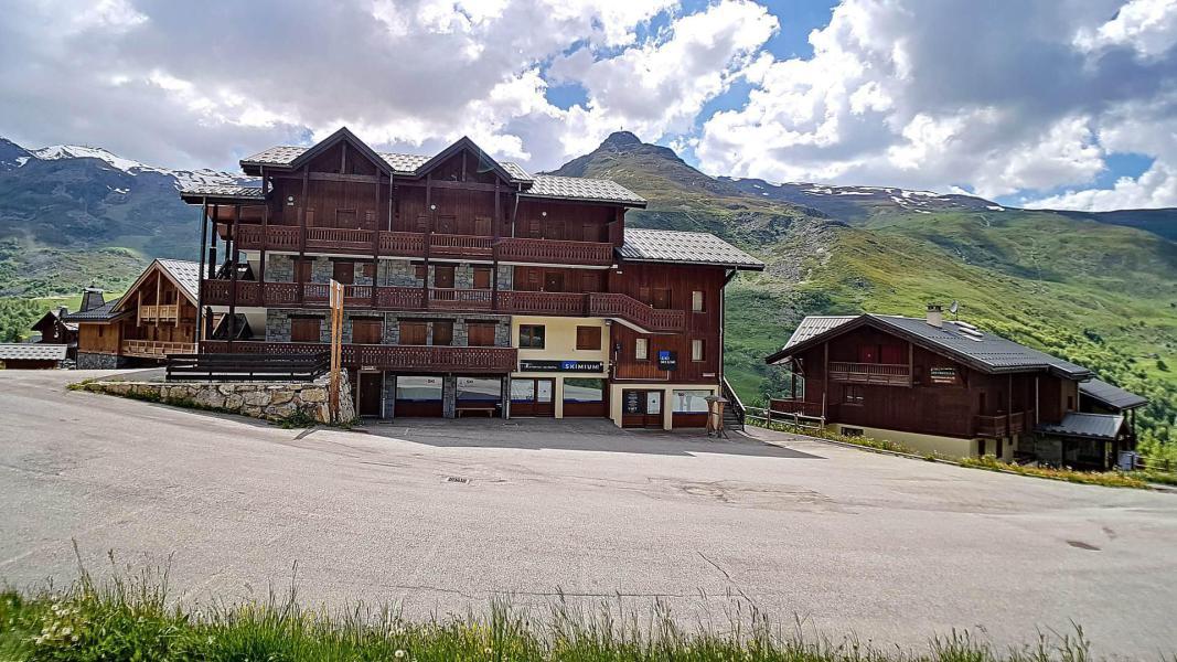 Location au ski Résidence les Cristaux - Les Menuires - Sauna