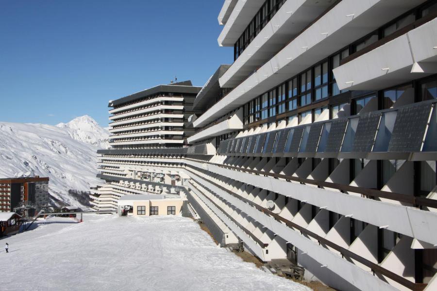 Location au ski Residence Les Evons - Les Menuires - Extérieur hiver