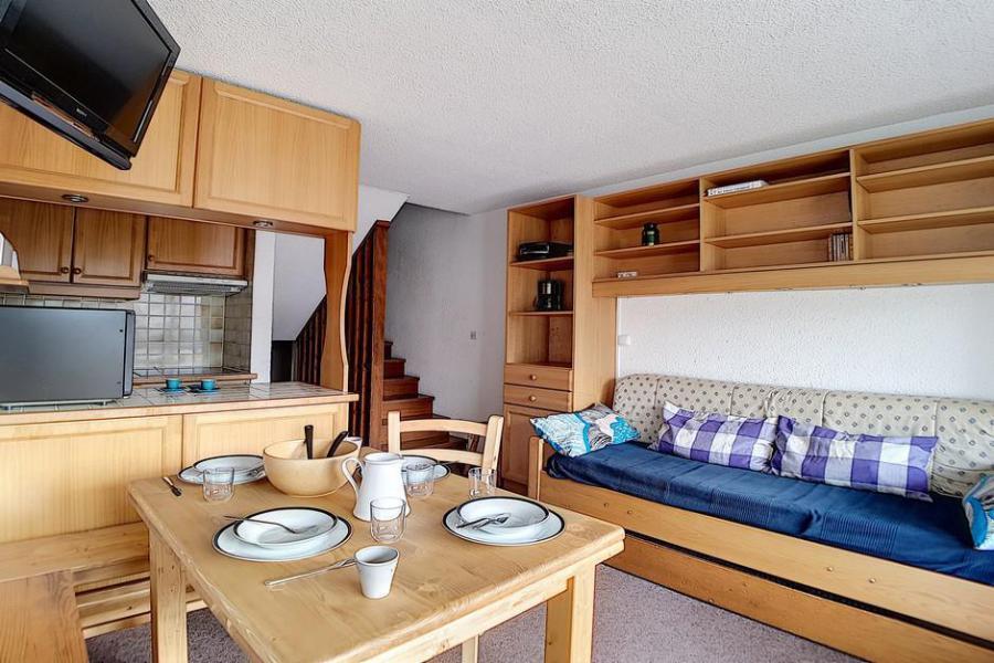 Location au ski Appartement duplex 2 pièces 5 personnes (303) - Residence Les Evons - Les Menuires - Kitchenette