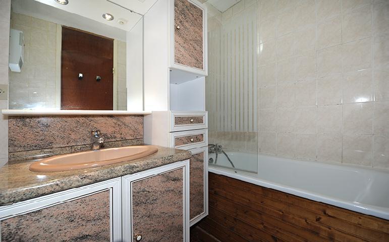 Location au ski Appartement duplex 2 pièces 5 personnes (303) - Residence Les Evons - Les Menuires - Salle de bains