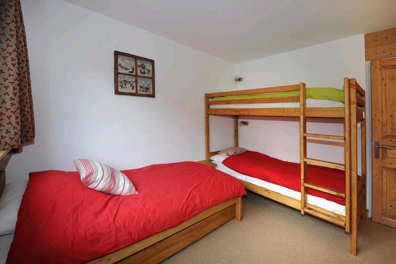 Location au ski Appartement 2 pièces 5 personnes (D3) - Residence Les Lauzes - Les Menuires - Lits superposés