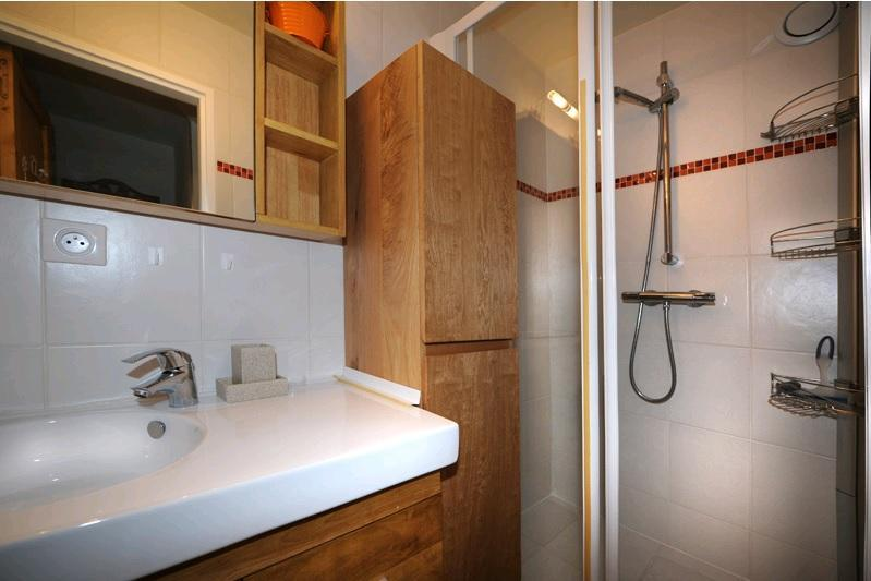 Location au ski Appartement 2 pièces 5 personnes (D3) - Résidence les Lauzes - Les Menuires - Salle de bains
