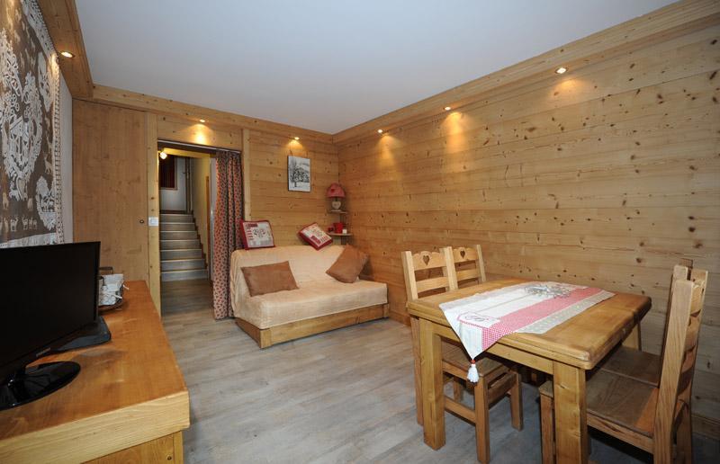 Location au ski Appartement 2 pièces 5 personnes (D3) - Residence Les Lauzes - Les Menuires - Séjour