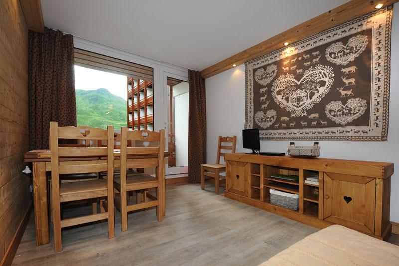 Location au ski Appartement 2 pièces 5 personnes (D3) - Résidence les Lauzes - Les Menuires - Séjour