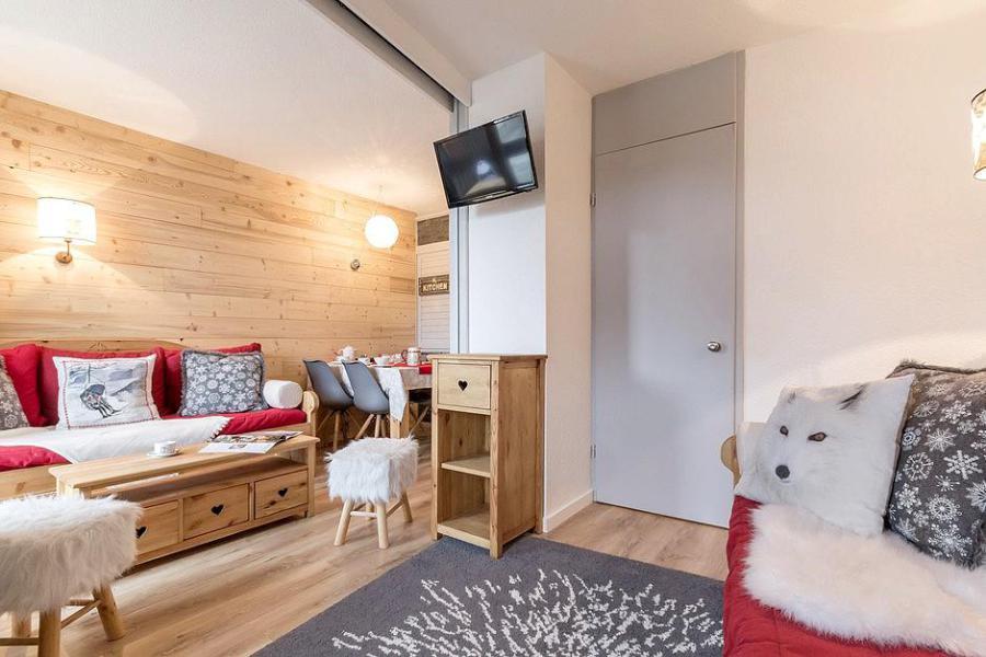 Wynajem na narty Apartament 2 pokojowy 4 osób (204) - Résidence les Soldanelles A - Les Menuires - Apartament