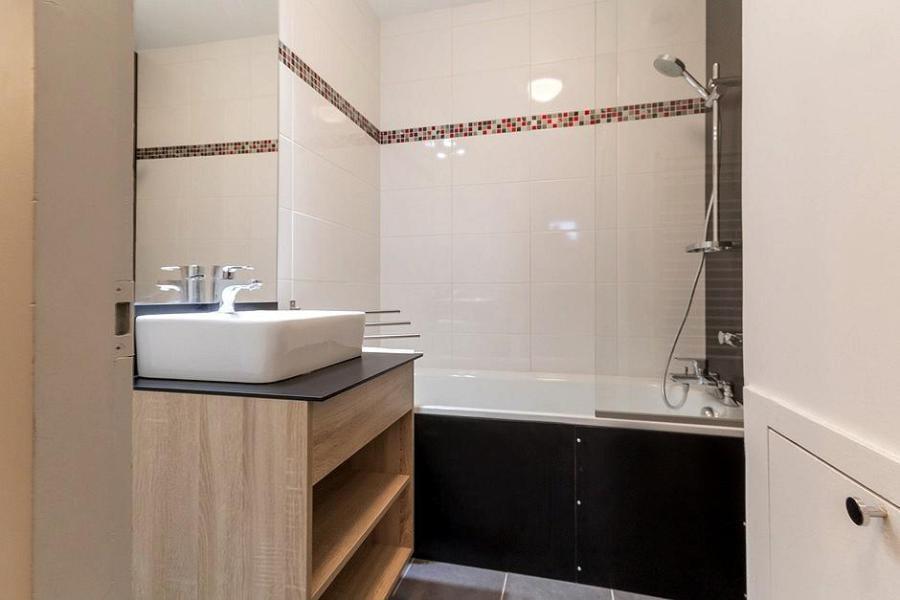 Wynajem na narty Apartament 2 pokojowy 4 osób (204) - Résidence les Soldanelles A - Les Menuires - Wanną