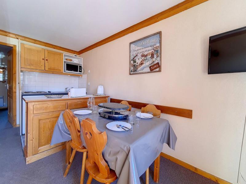 Аренда на лыжном курорте Апартаменты 2 комнат 4 чел. (1116) - Résidence les Valmonts - Les Menuires - Небольш&
