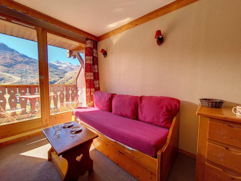 Аренда на лыжном курорте Апартаменты 2 комнат 4 чел. (1116) - Résidence les Valmonts - Les Menuires - Место дл