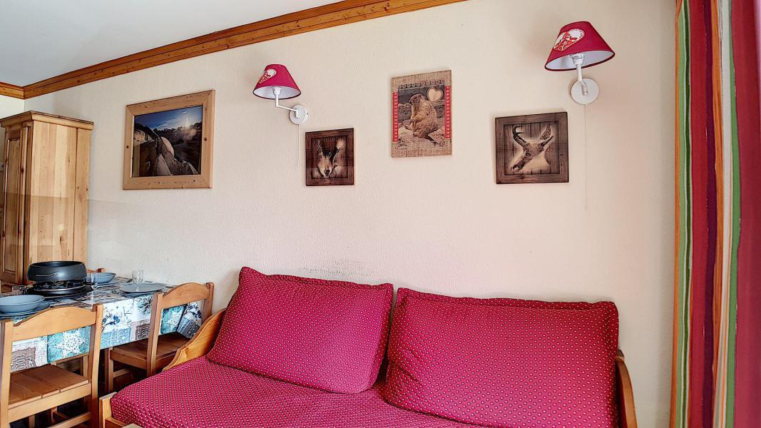 Аренда на лыжном курорте Апартаменты 2 комнат 4 чел. (306) - Résidence les Valmonts - Les Menuires - Салон