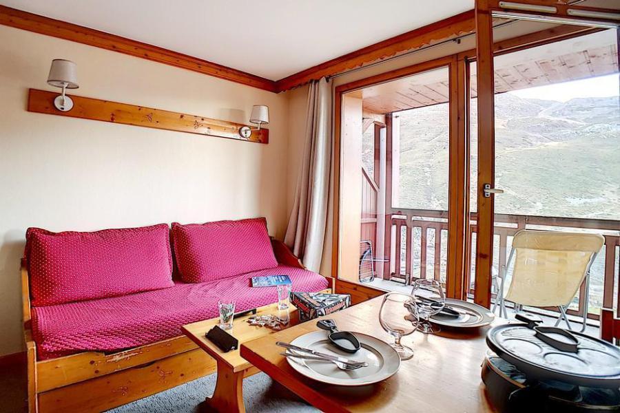 Аренда на лыжном курорте Апартаменты 2 комнат 4 чел. (402) - Résidence les Valmonts - Les Menuires - Салон