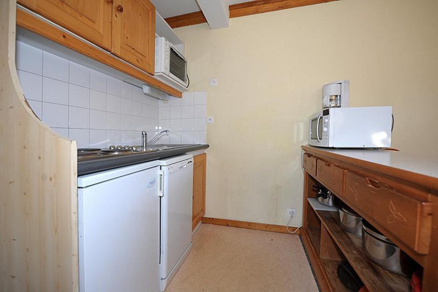 Аренда на лыжном курорте Апартаменты 3 комнат 6 чел. (205) - Résidence les Valmonts - Les Menuires - Кухня