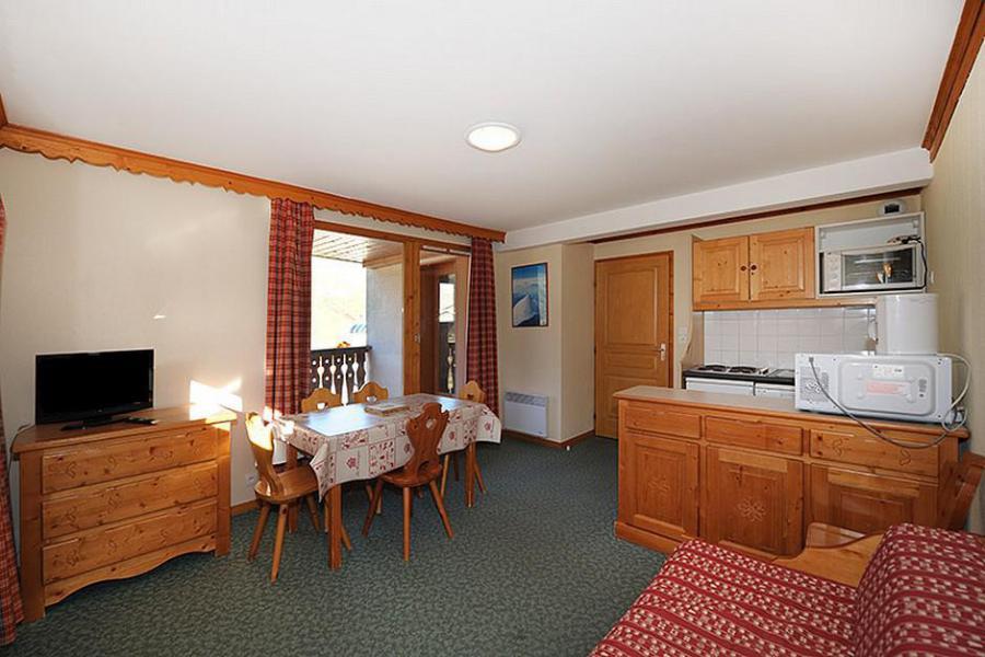 Аренда на лыжном курорте Апартаменты 3 комнат 6 чел. (205) - Résidence les Valmonts - Les Menuires - Салон