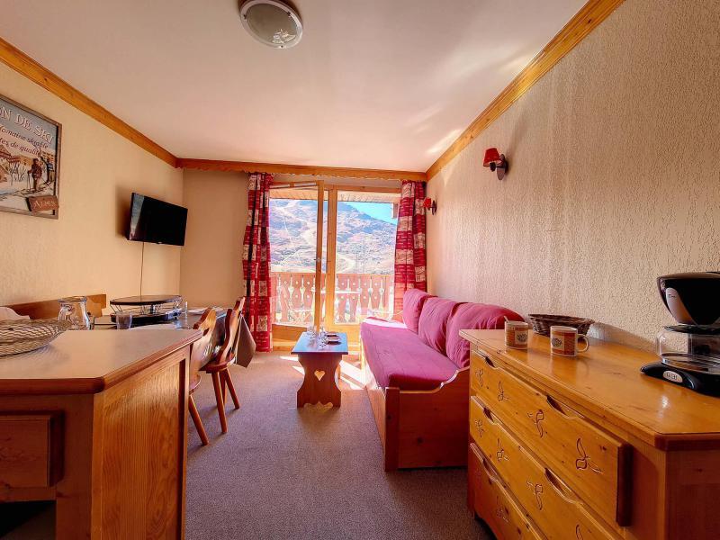 Location au ski Appartement 2 pièces 4 personnes (1116) - Résidence les Valmonts - Les Menuires - Extérieur hiver