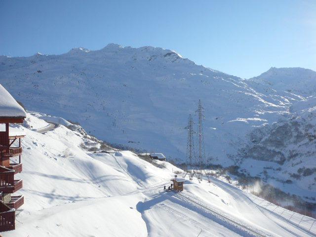 Location au ski Appartement 2 pièces 4 personnes (1215) - Résidence les Valmonts - Les Menuires - Extérieur hiver
