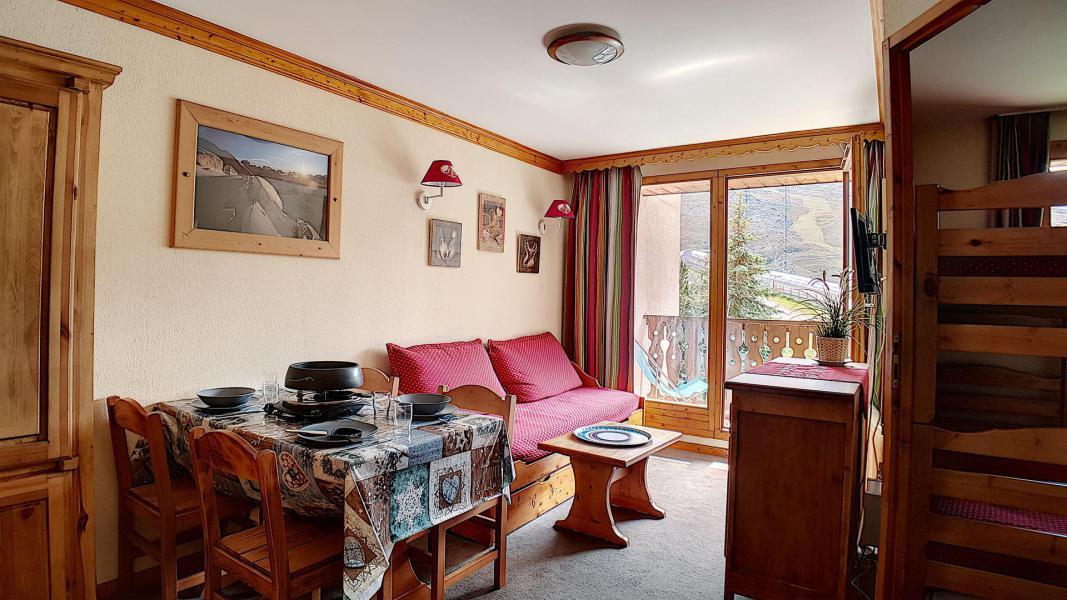 Аренда на лыжном курорте Апартаменты 2 комнат 4 чел. (306) - Résidence les Valmonts - Les Menuires