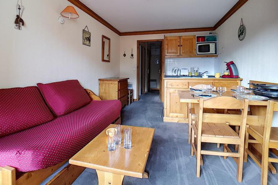 Wynajem na narty Apartament 2 pokojowy 4 osób (713) - Résidence les Valmonts - Les Menuires - Aneks kuchenny