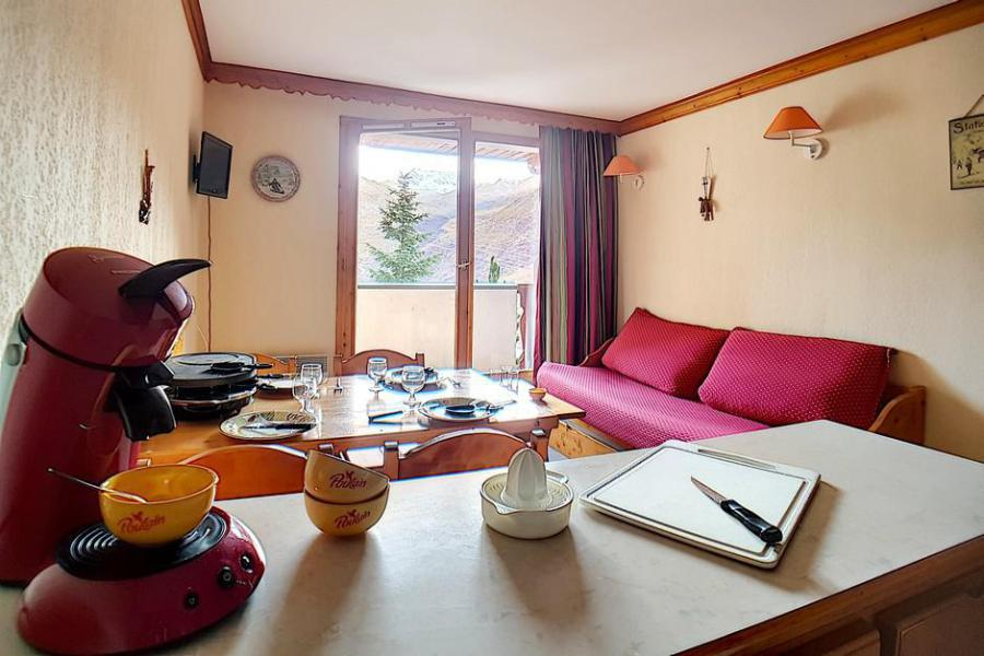 Wynajem na narty Apartament 2 pokojowy 4 osób (713) - Résidence les Valmonts - Les Menuires - Pokój