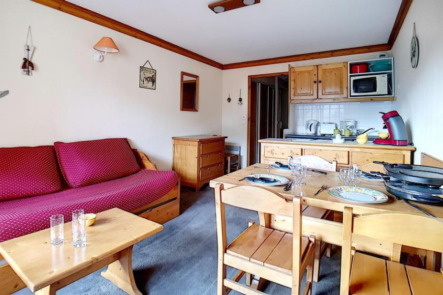 Wynajem na narty Apartament 2 pokojowy 4 osób (713) - Résidence les Valmonts - Les Menuires - Pokój gościnny