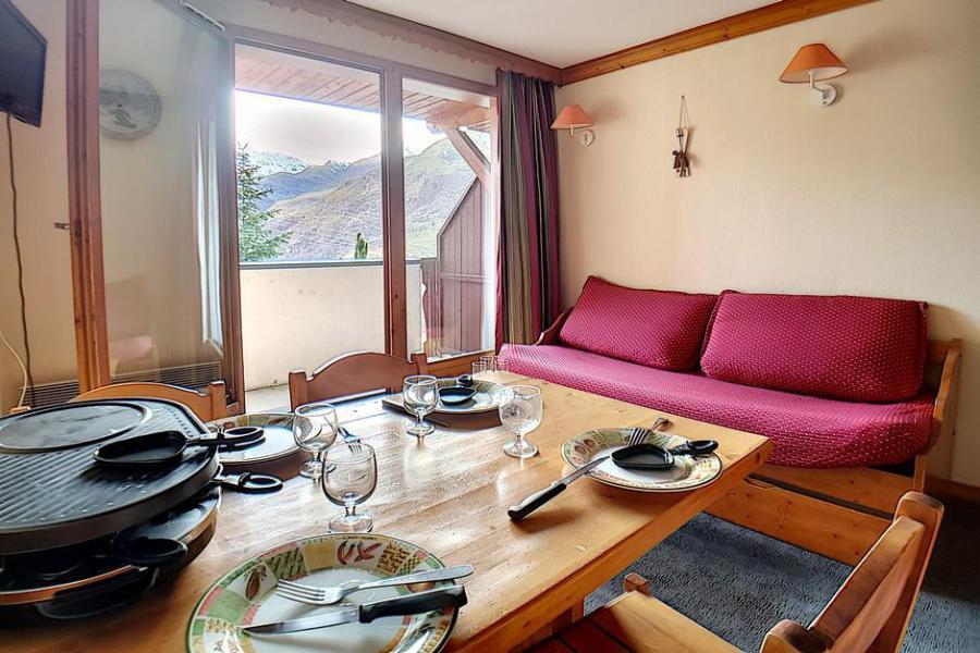Wynajem na narty Apartament 2 pokojowy 4 osób (713) - Résidence les Valmonts - Les Menuires - Wanną