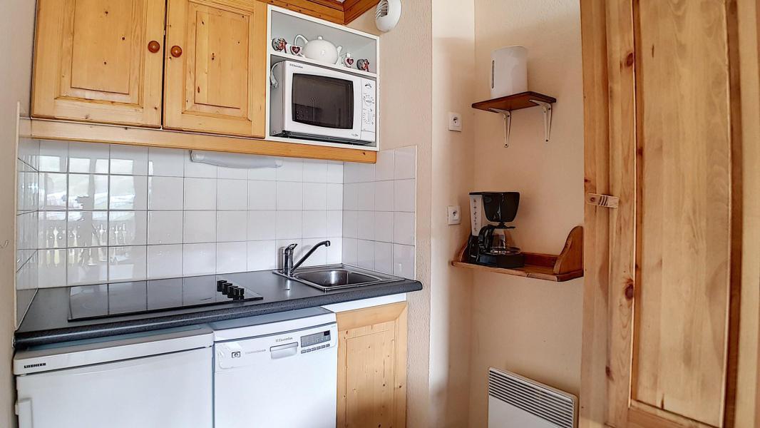 Location au ski Appartement 2 pièces 4 personnes (306) - Résidence les Valmonts - Les Menuires - Cuisine