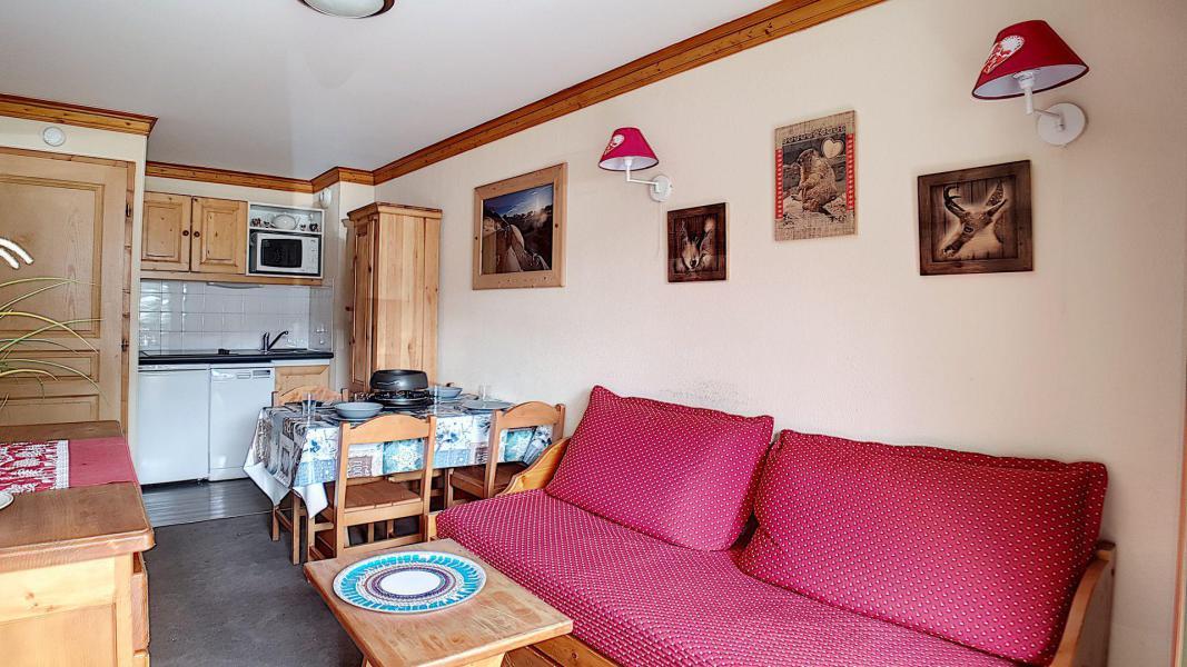 Location au ski Appartement 2 pièces 4 personnes (306) - Résidence les Valmonts - Les Menuires - Table