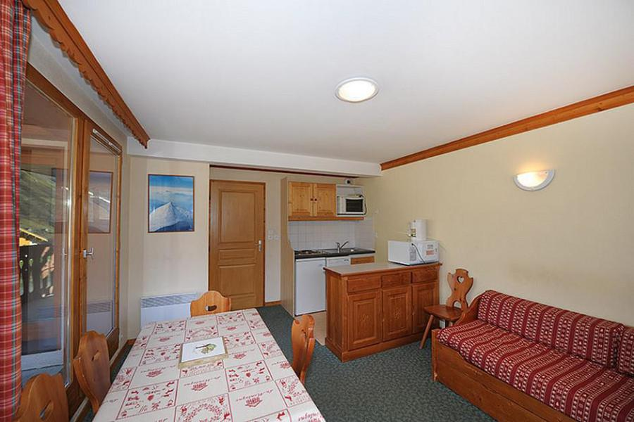 Location au ski Appartement 3 pièces 6 personnes (205) - Résidence les Valmonts - Les Menuires - Chambre