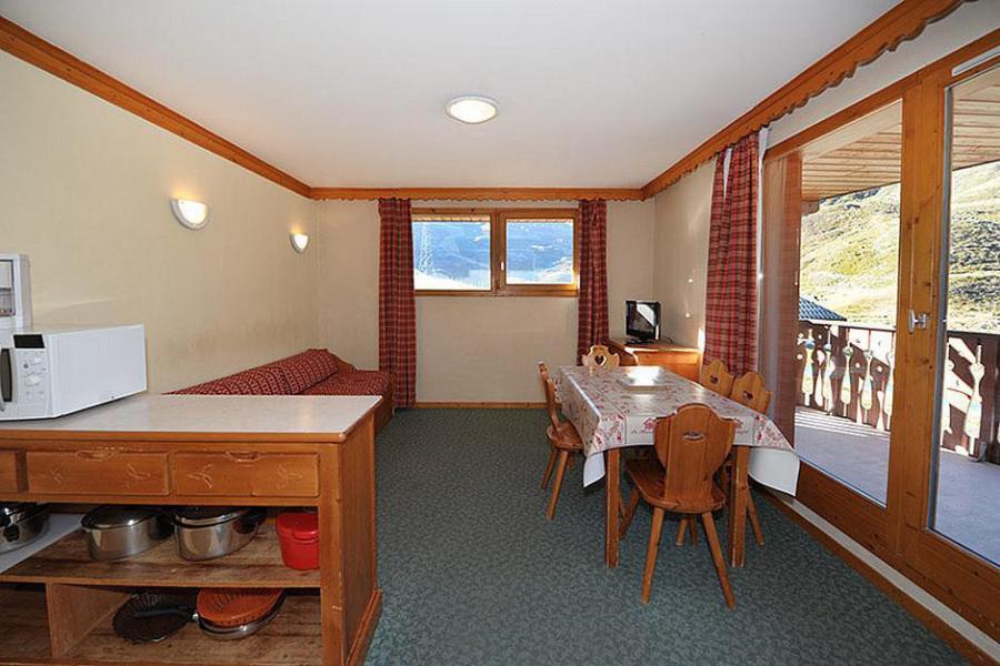 Location au ski Appartement 3 pièces 6 personnes (205) - Résidence les Valmonts - Les Menuires - Séjour