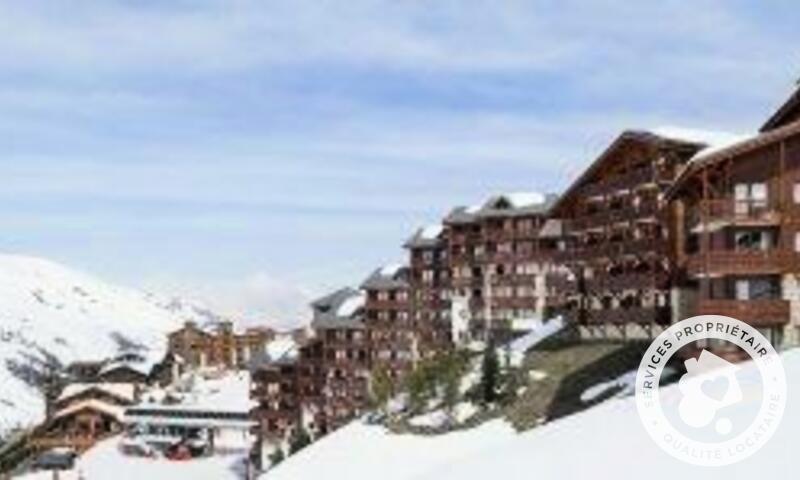 Аренда на лыжном курорте Квартира студия для 4 чел. (Confort 25m²-3) - Résidence les Valmonts - Maeva Home - Les Menuires - зимой под открытым небом