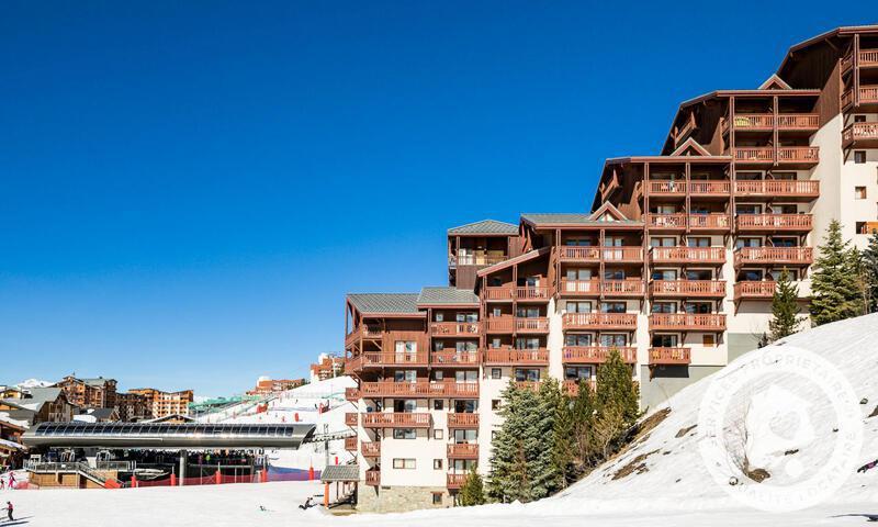 Аренда на лыжном курорте Résidence les Valmonts - Maeva Home - Les Menuires - зимой под открытым небом