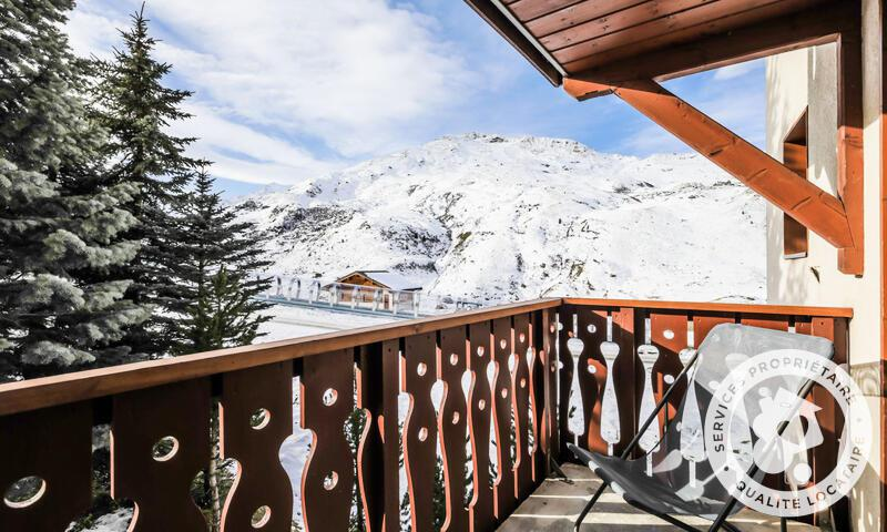 Wakacje w górach Apartament 3 pokojowy 6 osób (Sélection 45m²-2) - Résidence les Valmonts - Maeva Home - Les Menuires - Zima na zewnątrz