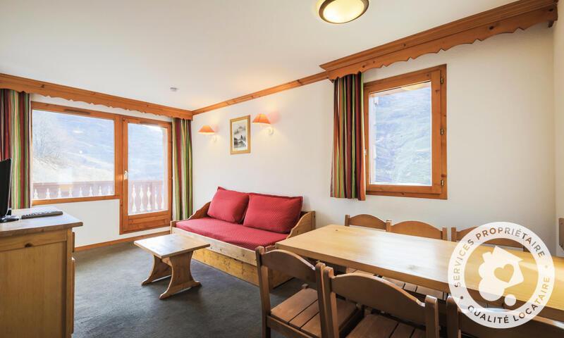 Wakacje w górach Apartament 3 pokojowy 6 osób (Confort 40m²) - Résidence les Valmonts - Maeva Home - Les Menuires - Pokój gościnny