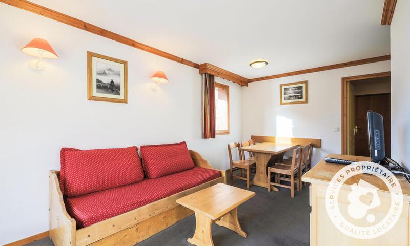 Wakacje w górach Apartament 3 pokojowy 6 osób (Confort 40m²) - Résidence les Valmonts - Maeva Home - Les Menuires - Zima na zewnątrz