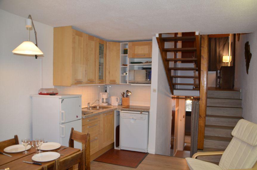 Location au ski Appartement triplex 3 pièces 8 personnes (417) - Résidence Nant Benoit - Les Menuires