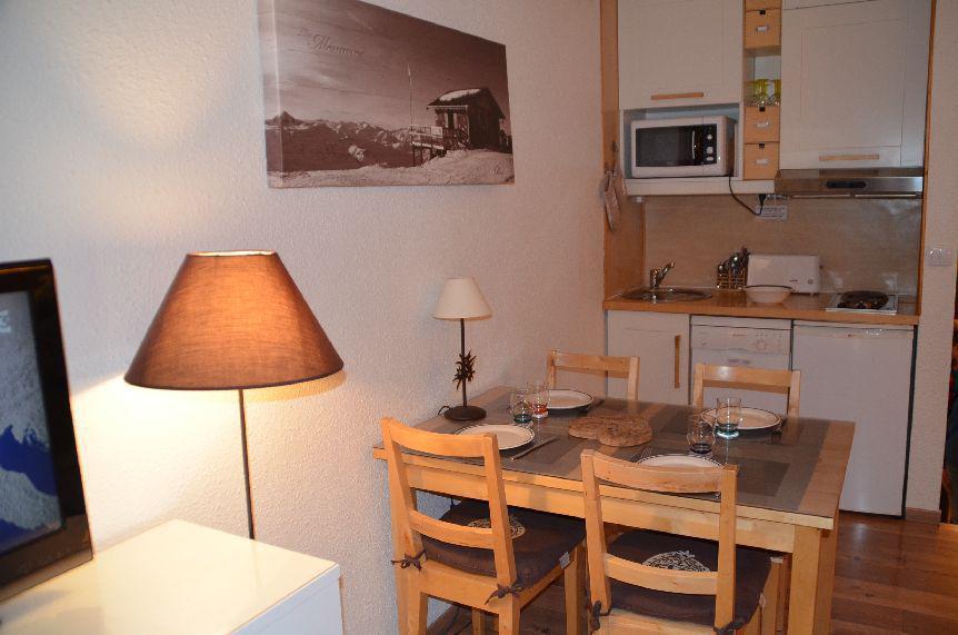 Location au ski Studio duplex 4 personnes (119) - Résidence Nant Benoit - Les Menuires