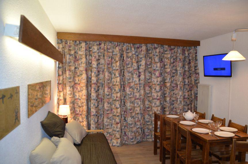 Location au ski Appartement triplex 3 pièces 8 personnes (417) - Résidence Nant Benoit - Les Menuires - Séjour