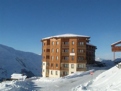 Location au ski Residence Necou - Les Menuires - Extérieur hiver