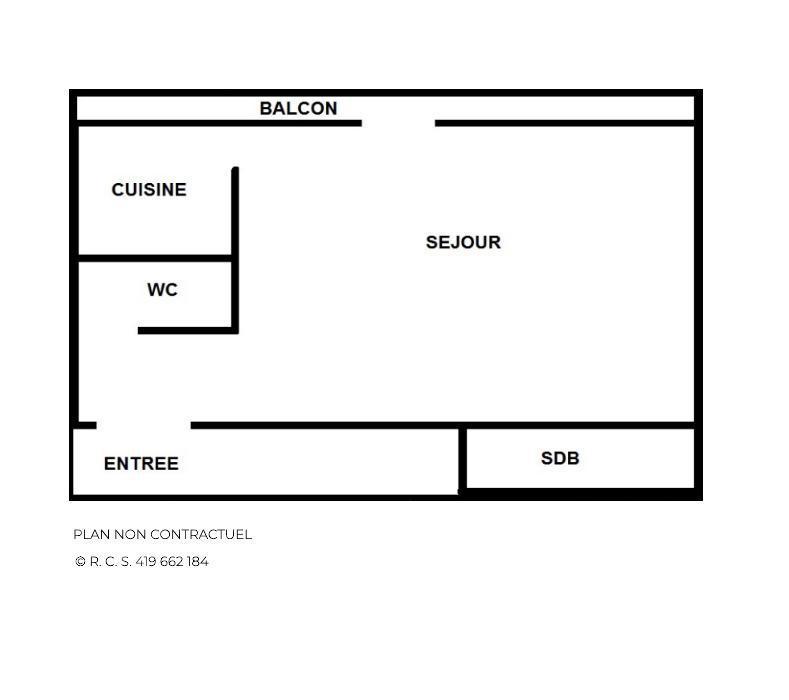 Location au ski Studio 4 personnes (32) - Residence Oisans - Les Menuires - Extérieur hiver