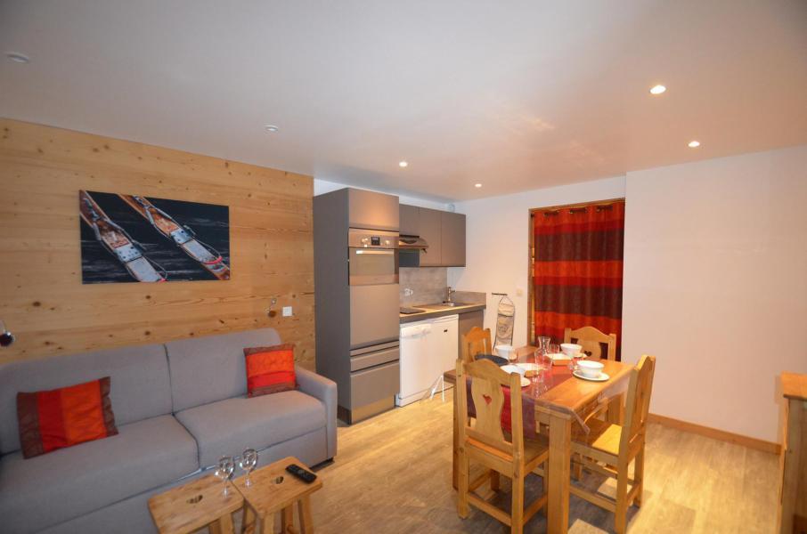 Location au ski Studio coin montagne 4 personnes (62) - Résidence Oisans - Les Menuires