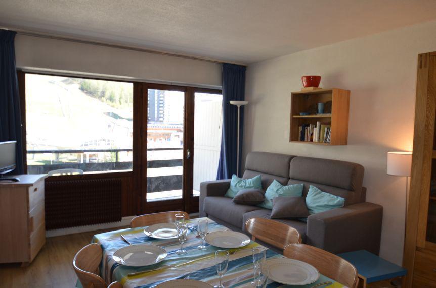 Location au ski Appartement 2 pièces 6 personnes (44) - Résidence Oisans - Les Menuires - Séjour