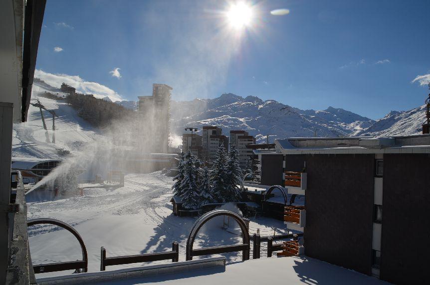 Location au ski Studio 4 personnes (32) - Residence Oisans - Les Menuires - Séjour
